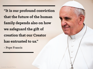pope francis profound conviction