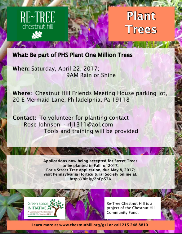 tree planting poster image