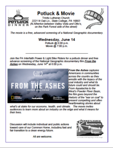 From the Ashes State College flier image
