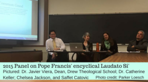 2015 Panel discussing Pope Francis' encyclical Laudato Si'