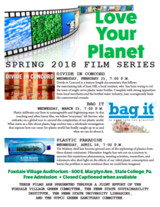 Free Transition Workshop In Concord >> State College Film Series 1 Divide In Concord Pennsylvania