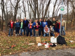 Lower Trail workparty Nov 2016