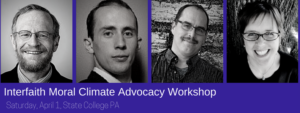 State College INTERFAITH MORAL CLIMATE ADVOCACY WORKSHOP